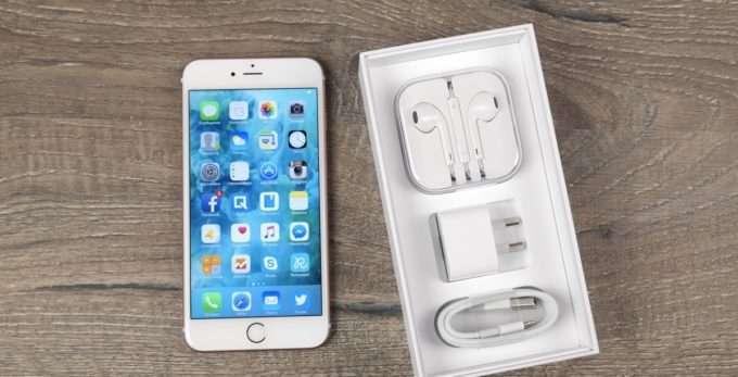 Комплектация Iphone 6s plus