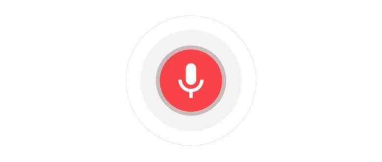 Голосовое управление google