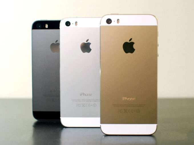 три цвета смартфона