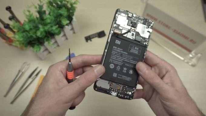 аккумулятор смартфона xiaomi