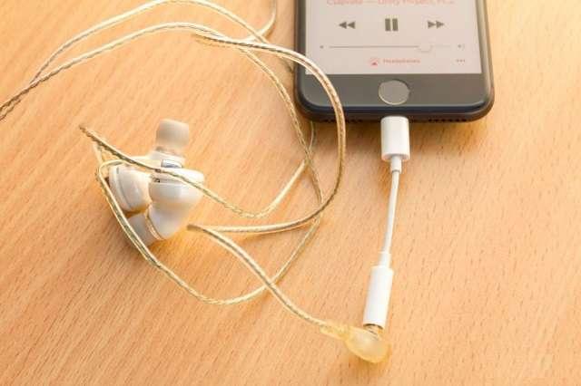 iPhone 8 наушники