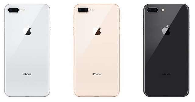 iPhone 8 plus цвета
