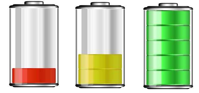 Емкость батареи