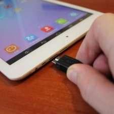 Подключение USB к планшету
