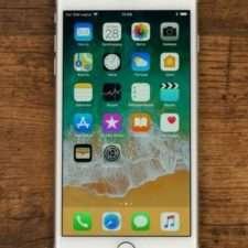iPhone 8 plus лицевая панель