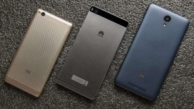 Китайские производители  смартфонов