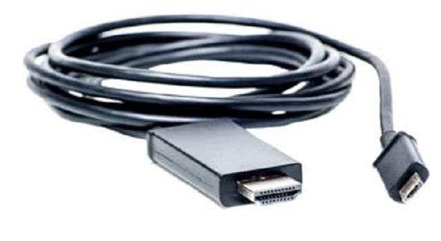 microUSB-HDMI