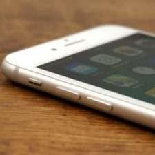 iPhone 8 plus левая грань