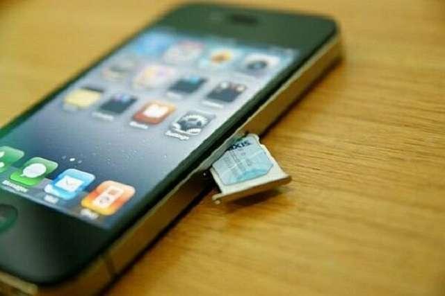 сим-карта iPhone