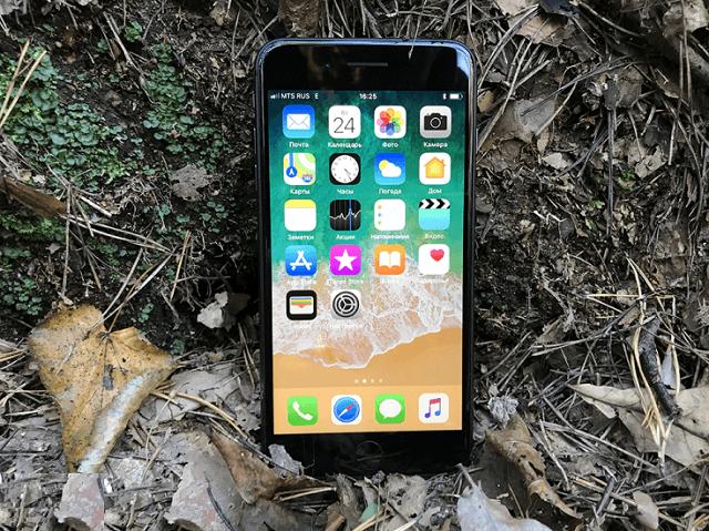 iPhone 8 plus дисплей