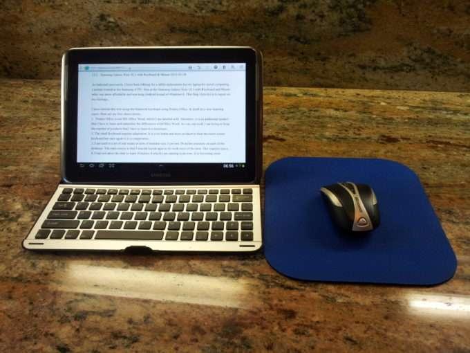 блютуз мышка и планшет