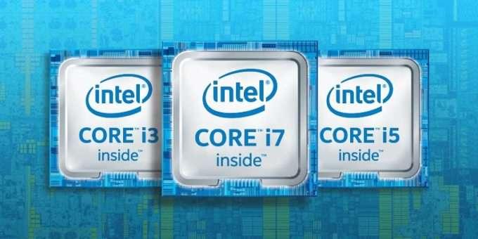 Серии Core: i3, i5, i7