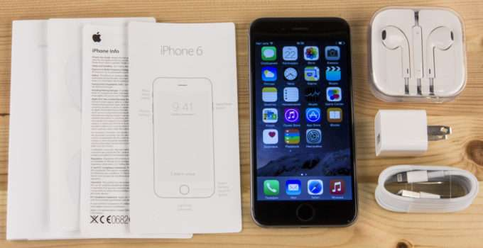 Комплектация Iphone 6