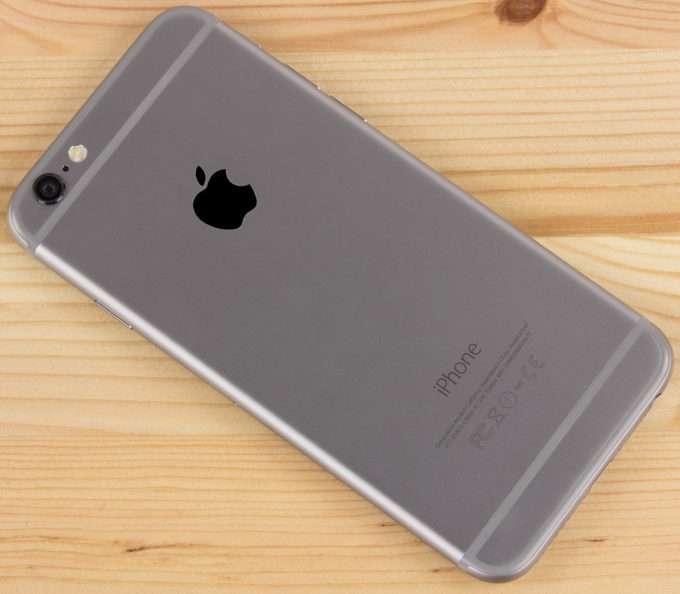 Задняя металическая панель Iphone 6