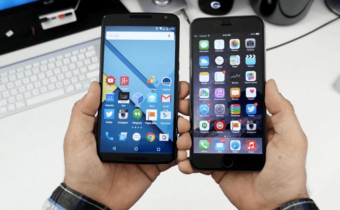 Как перенести контакты с Андроида на Айфон
