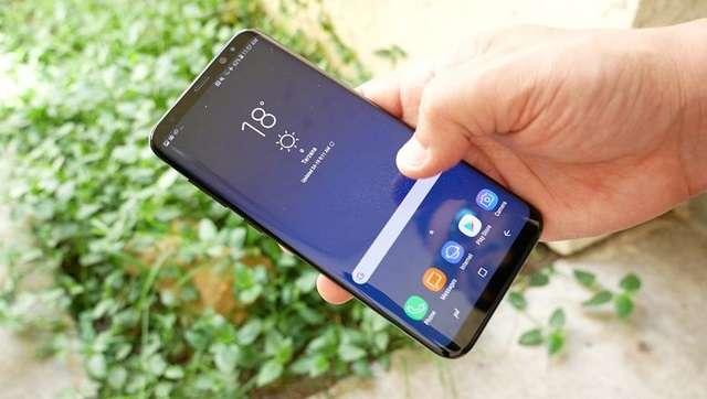 Samsung Galaxy S9 экран