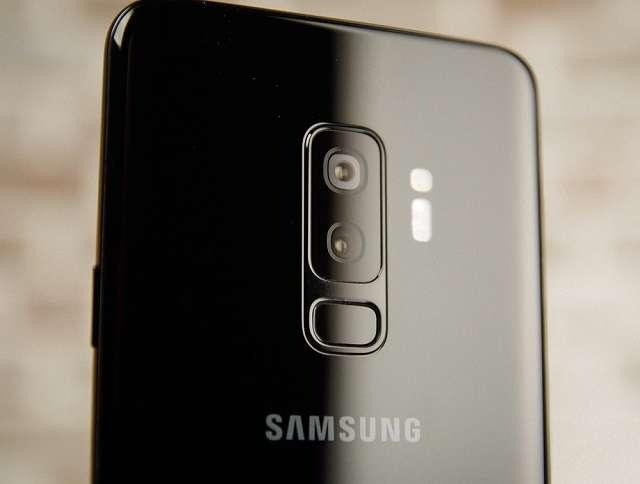 Samsung Galaxy S9 Plus камера