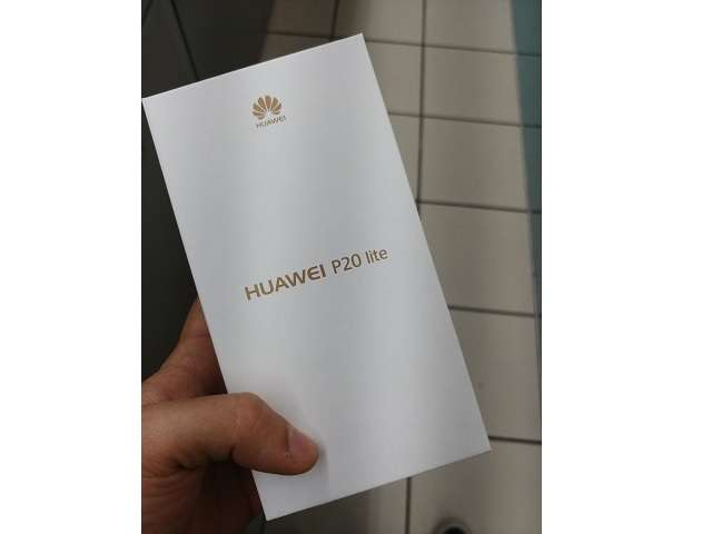 Huawei P20 Lite коробка