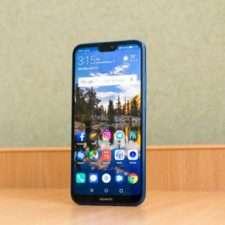 Huawei P20 Lite лицевая панель