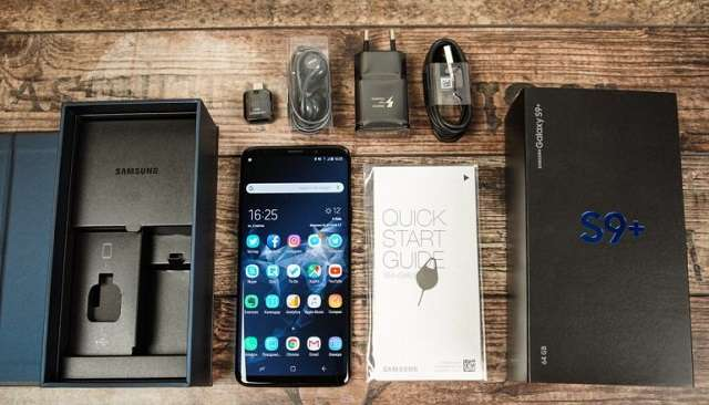 комплект поставки Samsung Galaxy S9 Plus
