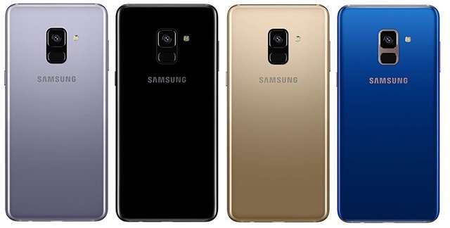 Samsung Galaxy a8 (2018) цвета