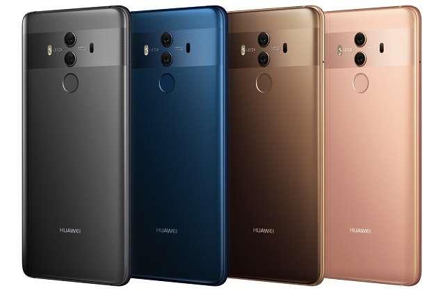 Huawei Mate 10 Pro цвета