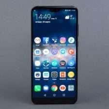 Huawei P20 Pro лицевая сторона