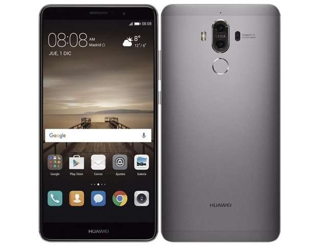 Обзор Huawei Mate 10 внешний вид