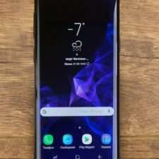 Samsung Galaxy S9 лицевая панель