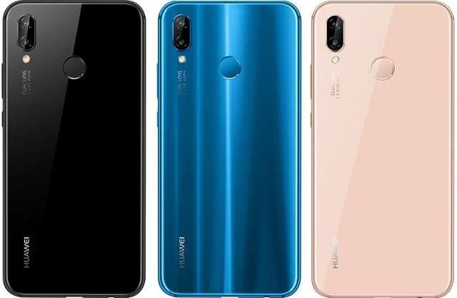 Huawei P20 Lite цвета