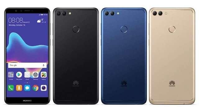 Huawei Y9 (2018) цвета