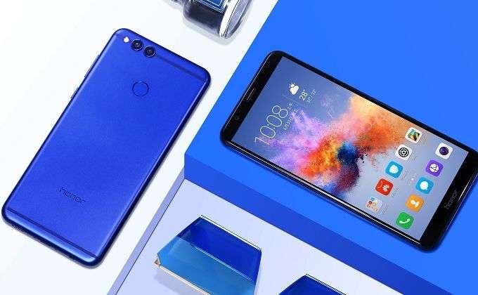 Huawei Honor 7X – бюджетный смартфон с безрамочным дисплеем