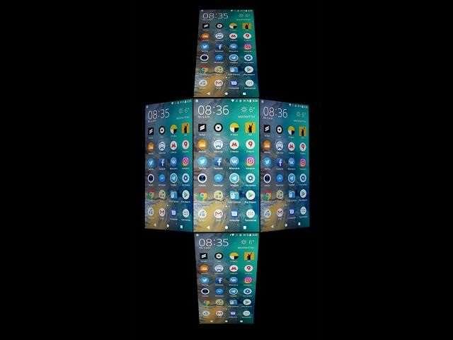 Sony Xperia XZ2 Compact углы обзора