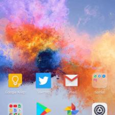 Huawei Honor 7X интерфейс