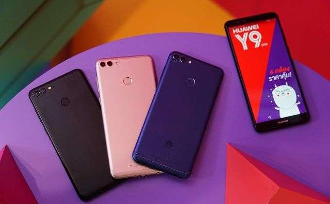 Обзор нового бюджетного смартфона Huawei Y9 (2018)