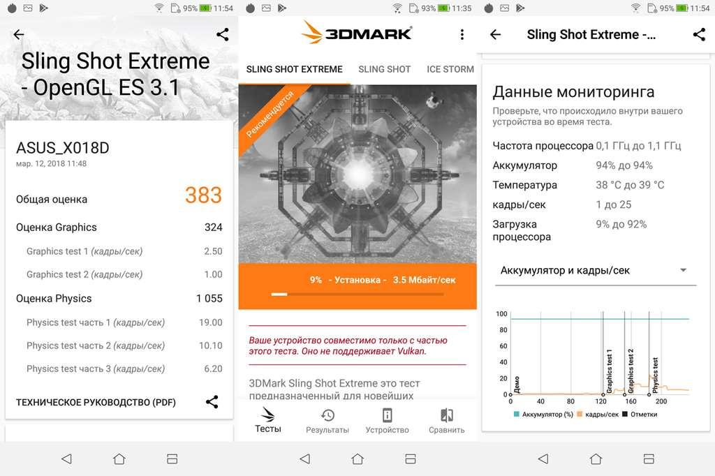 Asus Zenfone Max M1 3DMark