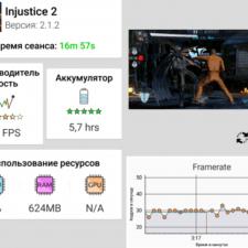Sony Xperia XZ2 Compact тестирование в игре