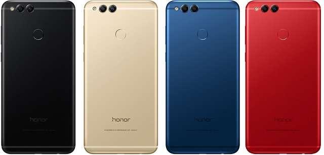Huawei Honor 7X цвета