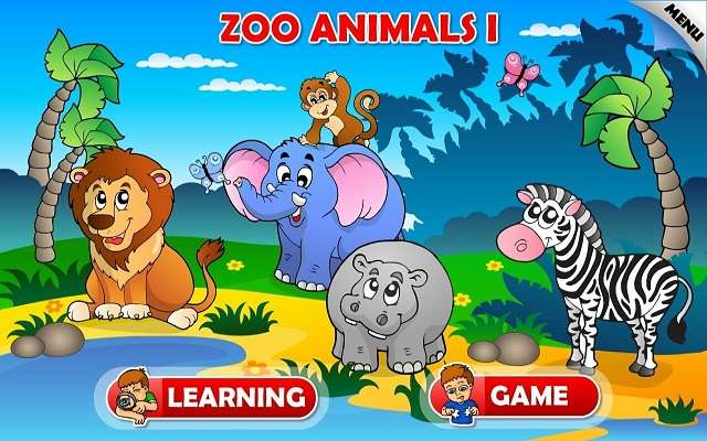 Toddler Tapping Zoo