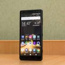 Sony Xperia XZ2 Compact лицевая панель