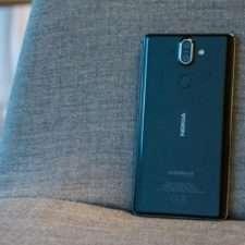 Nokia 8 Sirocco тыльная панель