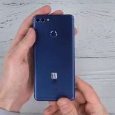 Huawei Y9 (2018) тыльная панель
