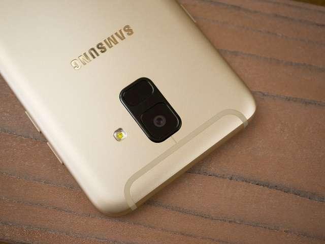 Samsung Galaxy A6 камера