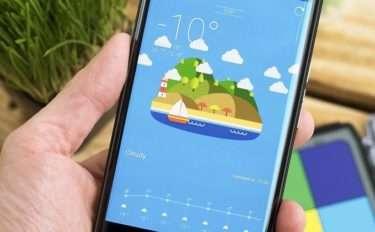 Подборка погодных виджетов для Android