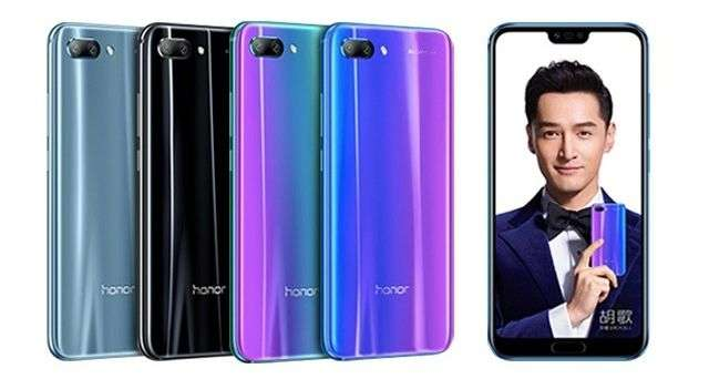 Huawei Honor 10 цвета