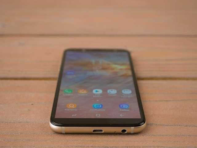 Samsung Galaxy A6 углы обзора