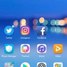 Huawei Honor 10 интерфейс