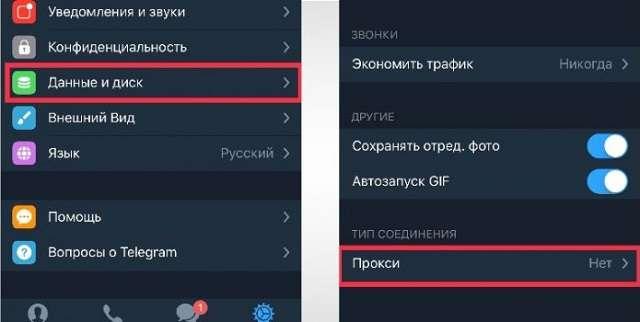 proxy в телеграмм
