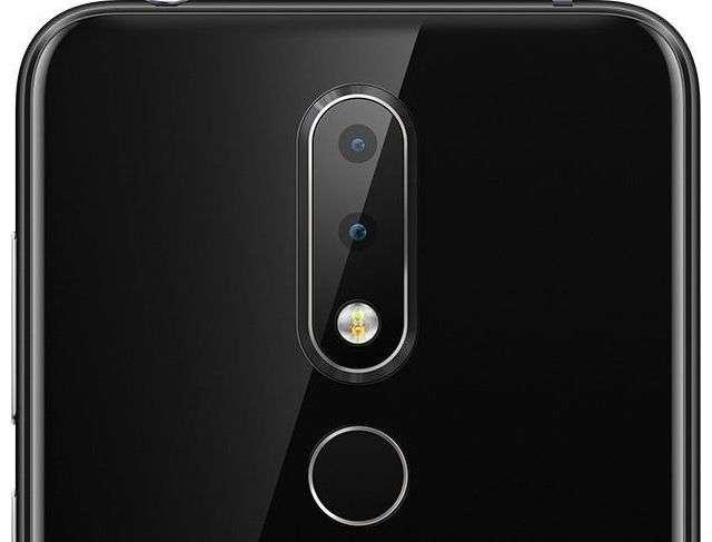 Nokia X6 (2018) камера