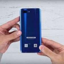 Huawei Honor 10 тыльная панель